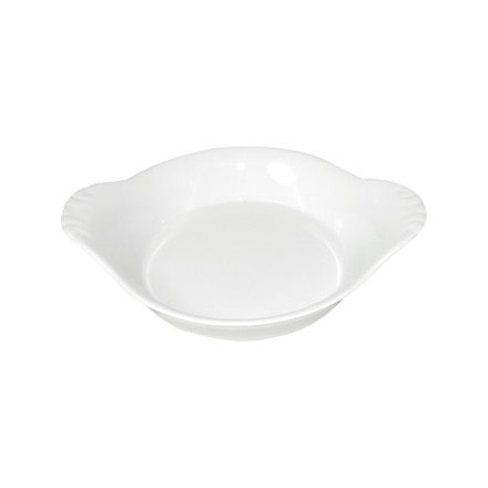 6x Olympia W433 47 (H) x 220 (W) x 177 (D) mm Round Eared Dishes Crockery